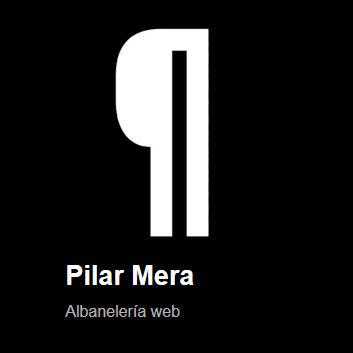 Pilar Mera - Albanelería web