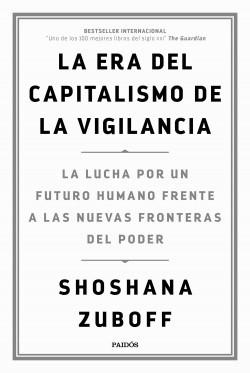 "Portada do libro ""La era del capitalismo de la vigilancia"" de Shoshana Zuboff"